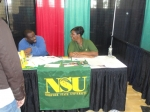 'I think that last student would be a great fit for NSU.'