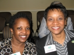 PGCMDC members Freda Ingram and Lea Carrington.