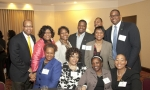 Members of the PGCMDC pose for the camera during the Presidential Reception in Greenbelt, Maryland
