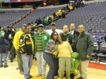 The NSU family after the game.